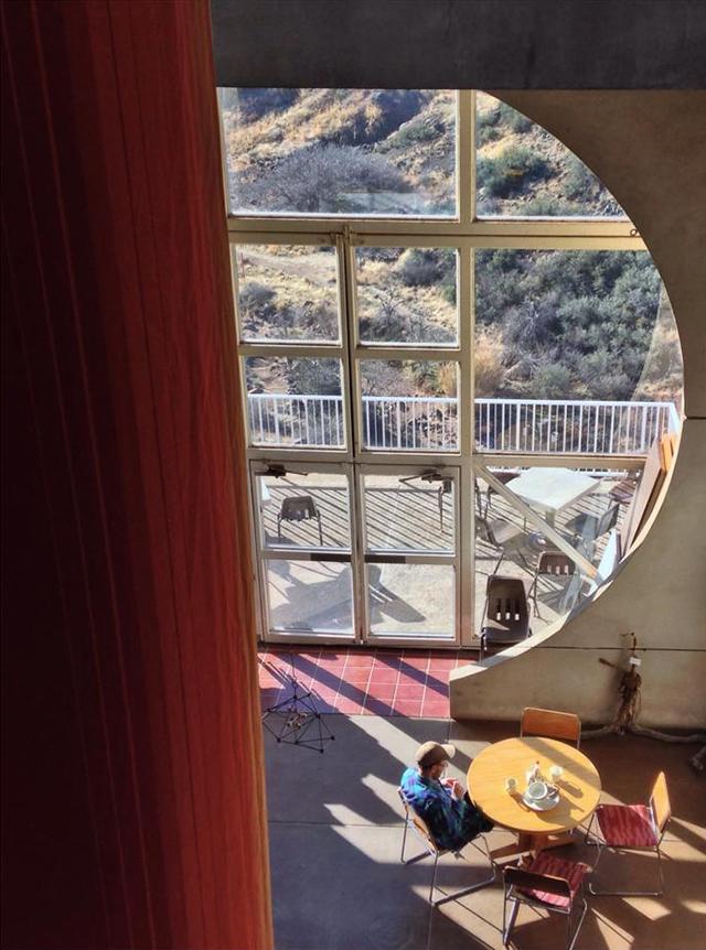 Arcosanti_interior