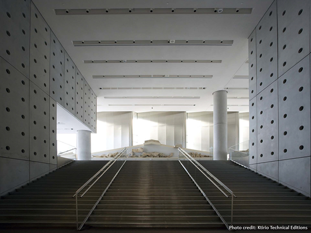 A Museum Of Daylight The New Acropolis Museum In Athens